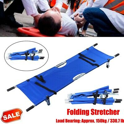 Foldable Medical Bed Stretcher Ambulance Emergency Portable Patient Bed