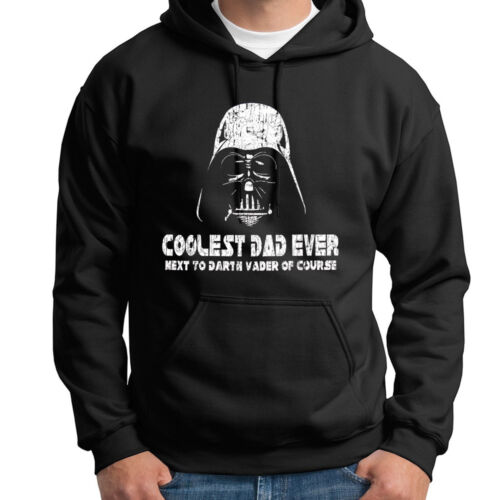 f0952be76 Darth Vader Coolest Dad Ever Star Wars Funny T-Shirt Hoodie Sweatshirt