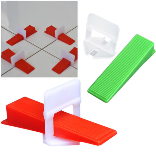 300 - 800 Clips Wadges PERFECT Tile Leveling System Wall Floor Spacers Opt. - $18.50