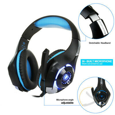 Best Gaming Headset Gamer Gaming Headphone for Computer PC PS4 with (Best Mic For Gaming Headset)