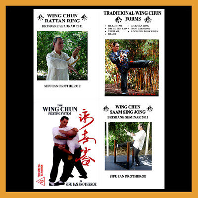 Ian Protheroe's Wing Chun Kung Fu Training Series (4 DVD Set)