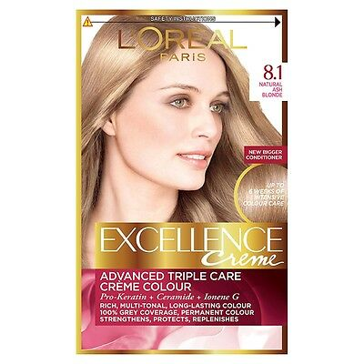 L'Oreal Excellence Creme Natural Ash Blonde