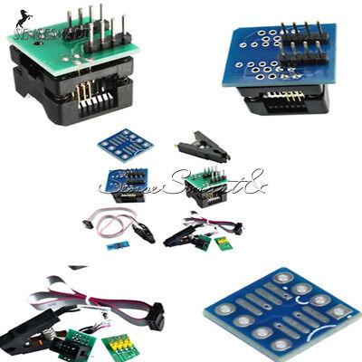 Soic8 Sop8 Flash Chip Ic Test Clips Socket Adpter Programmer Converter 150mil