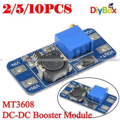 12510pcs Mt3608 2a Dc-dc Step Up Power Supply Module Booster Module F Arduino