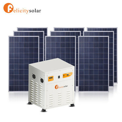 3.5KVA 110VAC/220VAC ALL IN ONE Solar panel solar energy system DIY KIT