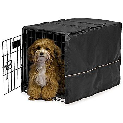"""Pet Dog Crate Cage Small Pet Cover Crate Kennel Cover Playpen Folding 22"""""""