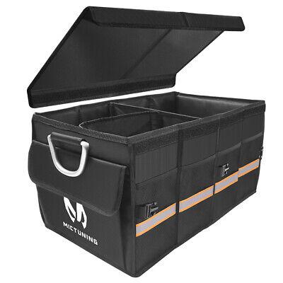 MICTUIGN Car Trunk Organizer Waterproof Collapsible Portable Cargo Storage Bin