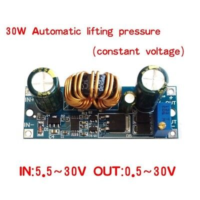 Automatic Step-up and Down Power Supply Module Voltage Regulator Modules 4A MA ()