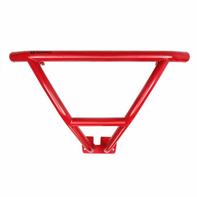 HMF Racing Defender Rear Bumper Guard Steel Red Honda Talon 1000R/1000X