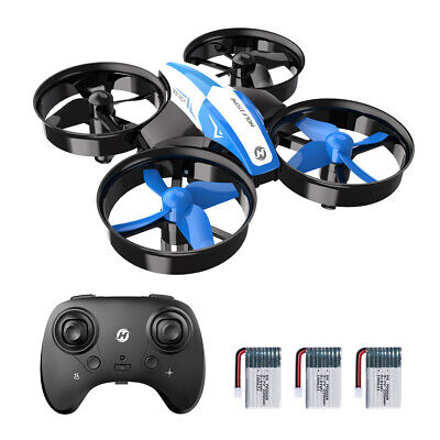 Holy Stone HS210 Mini RC Drone 2.4GHz Altitude Hold Quadcopter Toy + 3 batteries