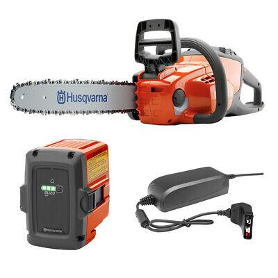 Husqvarna 120i Battery Powered Cordless Electric Chainsaw 36.5V 14