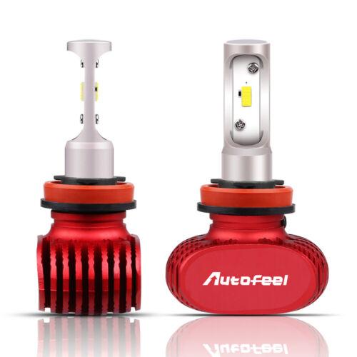 2pcs H11 H8 H9 200W 30000LM PHILIPS LED Headlight Bulbs Low Beam Conversion Kit