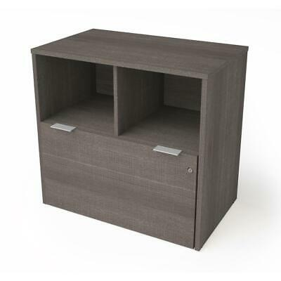 I3 Plus One Drawer Lateral File In Bark Gray