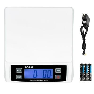 30kg1g Digital Weigh Packaging Shipping Postal Scale 66lb 1056oz Lcd Ac Adapter