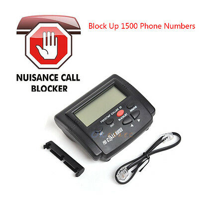 Incoming Call Blocker Telephone Defense Stop Scam Calls 1500 Blacklist Phone No.