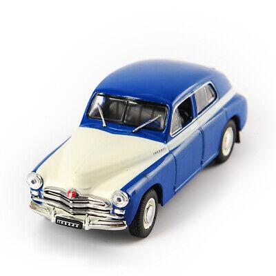 DeAGOSTINI 1/43 GAZ-M20B ГА3-М20В ПОБеДа Car Classic Soviet Sedan Model Toys