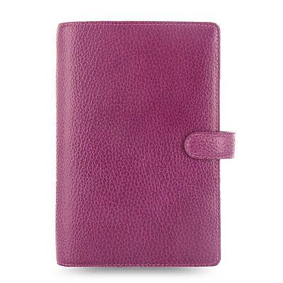 Filofax Personal Size Finsbury Organiser Diary Raspberry Leather -025305 Gift