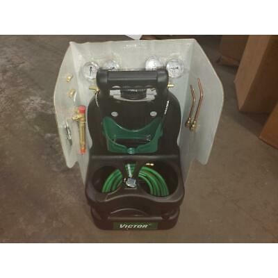 Victor Cst-p Fuel Light Duty Cutting Brazing Welding Tote Kitwithout Tanks