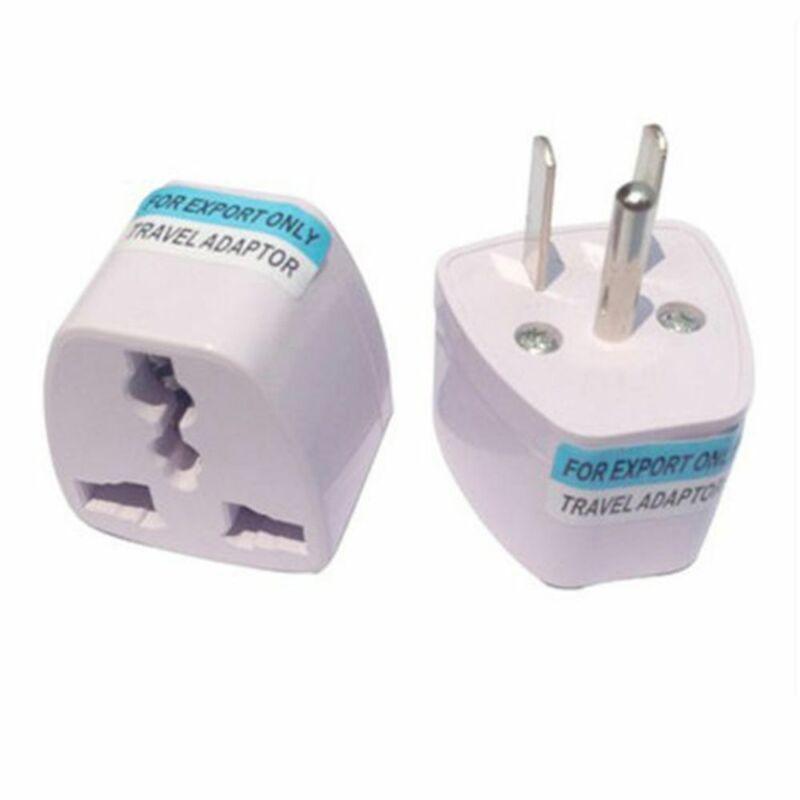 US Brand New Universal EU UK AU to US USA AC Travel Power Plug Adapter Converter