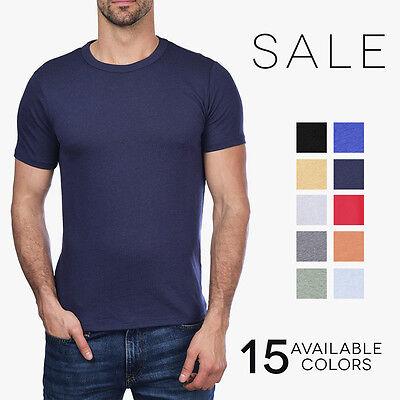 Alternative Apparel Keeper Crew T Shirt Vintage 50 50 Poly Cotton Tee 05050Bp