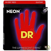 Neon Electric Guitar Strings