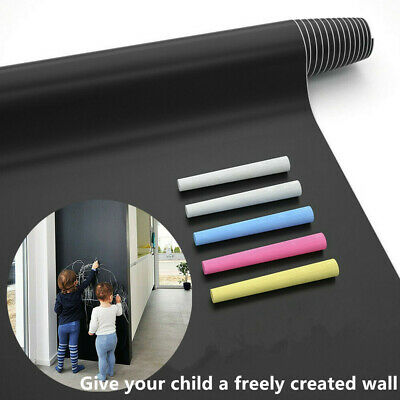 Large Chalk Board (Large Chalkboard Wall Sticker (6.6FT) Blackboard Paint Chalk Board Contact)