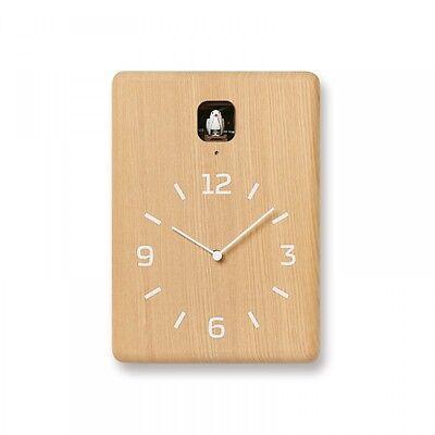 Lemnos CUCU Cuckoo Wall Clock Natural LC10-16 NT Free Shipping EMS Japan Import