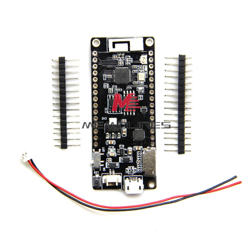 Support Tf Card Ttgo Wifi Bluetooth Esp32 Wrover 4mb Flash Module  With 3d Wire