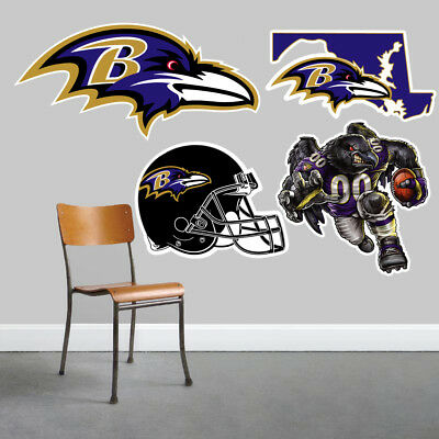 Baltimore Ravens Wall Art 4 Piece Set Large Size------New in Box------ (Baltimore Ravens Dekorationen)