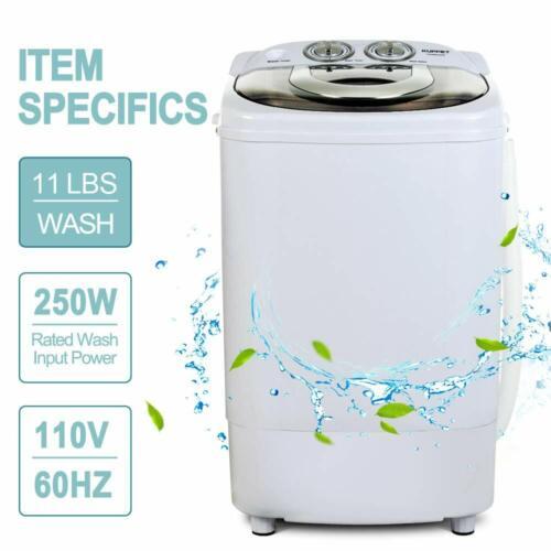 Portable Mini Washing Machine Compact Semi-Automatic Laundry