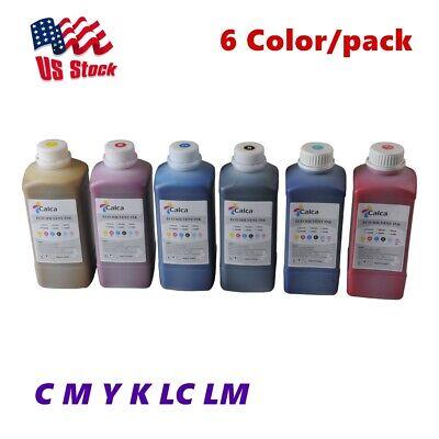 Usa 6 Color Calca Compatible Roland Eco Solvent Ink C M Y K Lc Lm