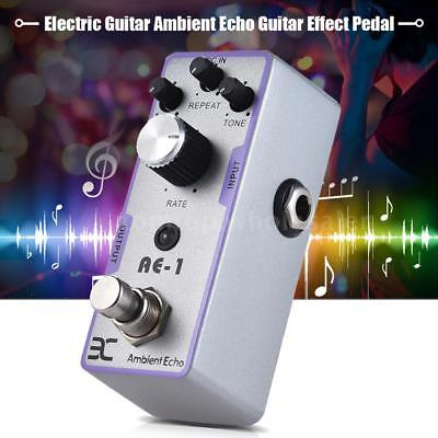 ENO EX AE-1 Mini Ambient Echo Effect Pedal for Electric Guitar True Bypass H8I8