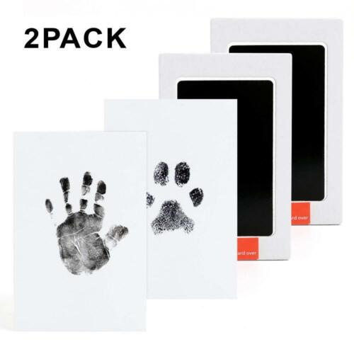 Baby Handprint and Footprint Ink Pads - 2 Pack - Paw Print K