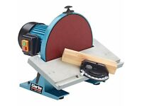 Large disc sander used only once!