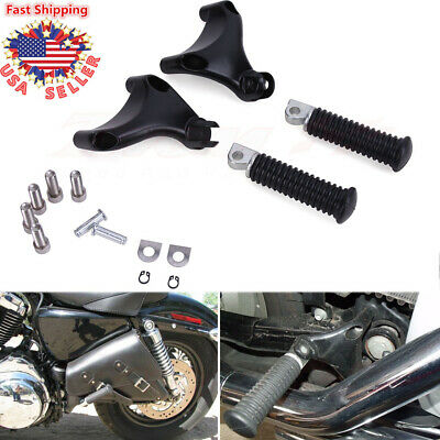 Rear Passenger Foot Peg Seat Mount Bracket For Harley Sportster XL883 1200 (Rear Footpeg Bracket)