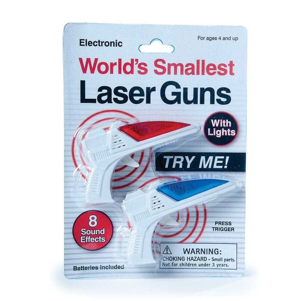 World/'s Smallest Laser Guns Jouet Cadeau Nouveauté Jeu Cadeau Gadget Électronique actuelle