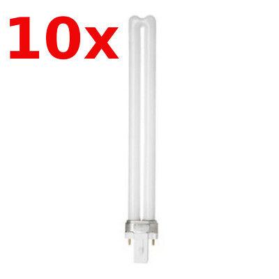 10x Ge Lampada Fluorescente Compatta BIAX S 11W 827 G23 2P 2700K Bianco Caldo comprar usado  Enviando para Brazil