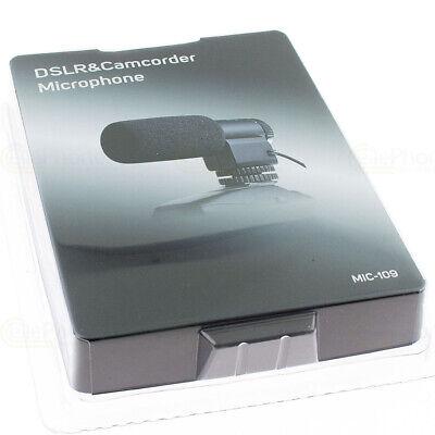 Externes Stereo-Mikrofon Sony Alpha SLT-A55VL A55VY A65VY