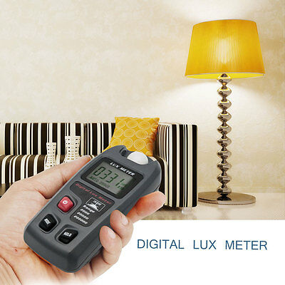 New Digital  Lux Flash Meter Photometer Tester w/ LCD Display Measuring Tester