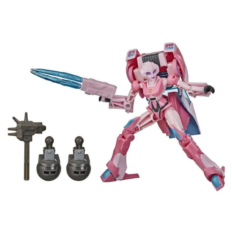 Transformers Bumblebee Cyberverse Adventures Deluxe Arcee Action Figure,