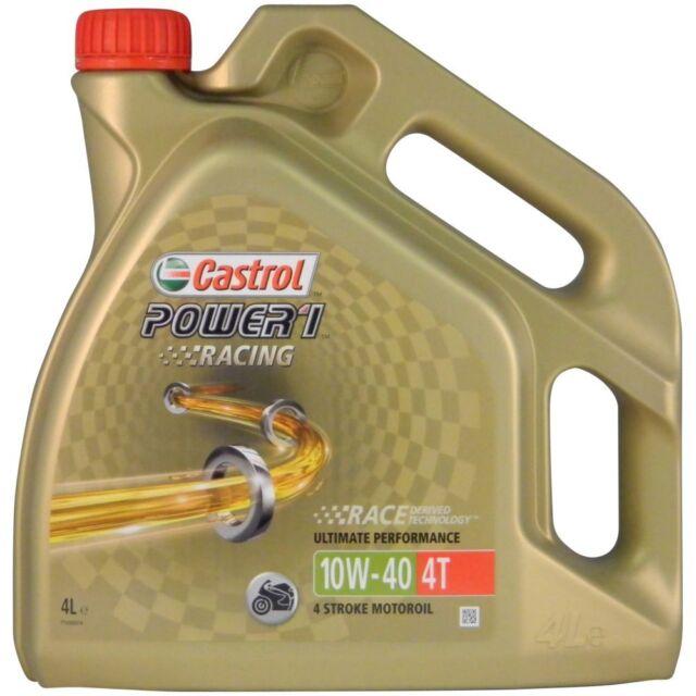 Castrol Power 1 Racing 4T 10W-40 4 Liter Motorrad Motoröl Motorenöl