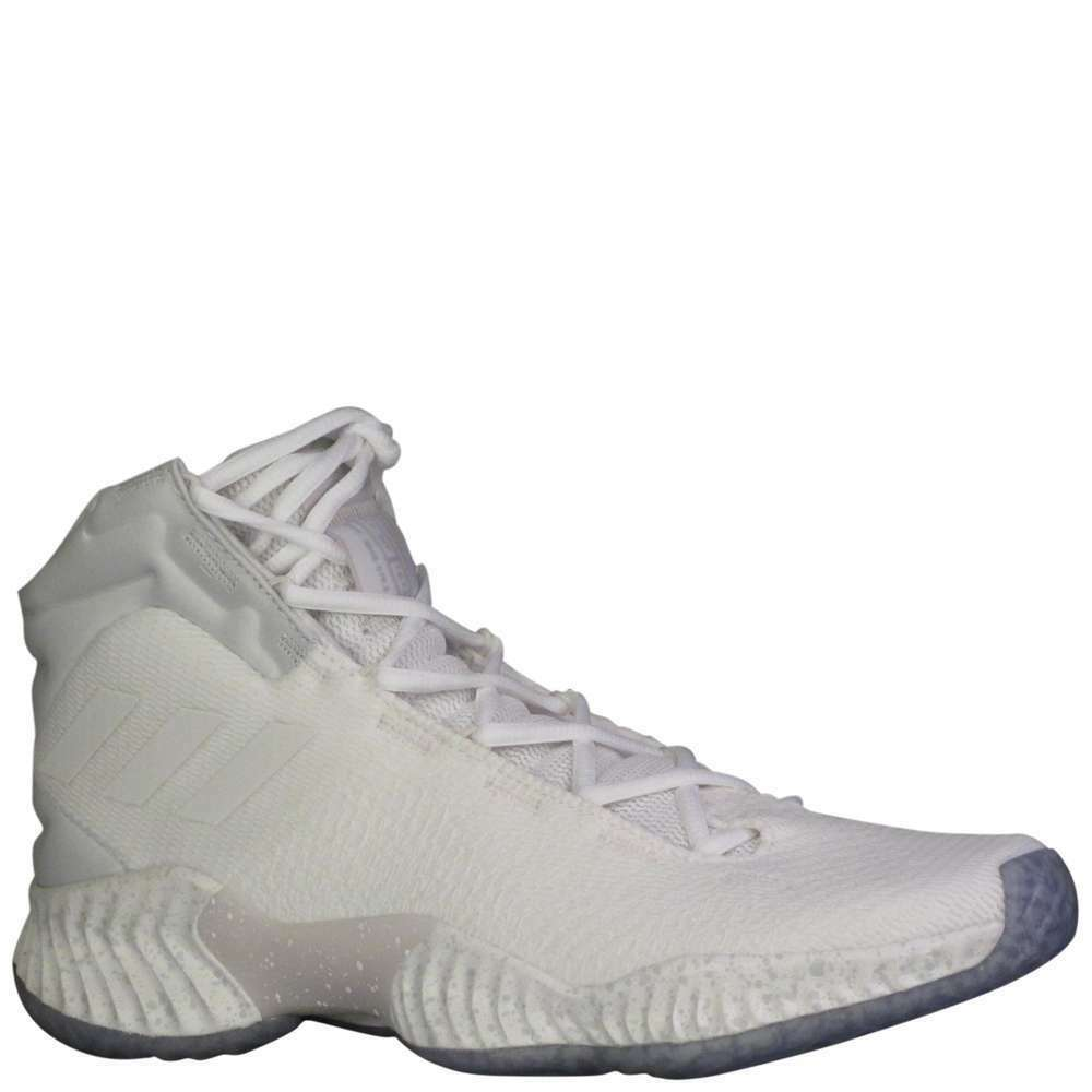 Adidas SM Pro Bounce 2018 Iced Out Men's [ White ] Basketball - MD97386