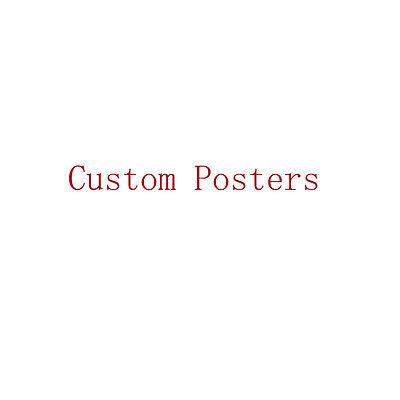 Custom Poster Custom Your Image 12X18 32x48 inch Huge Print