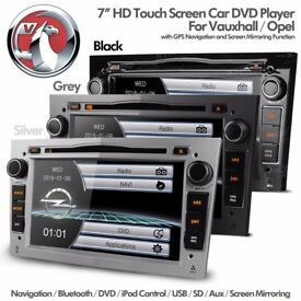 Vauxhall Corsa Astra Zafira Car Audio Radio CD DVD USB SD Aux GPS Stereo Bluetooth Navigation