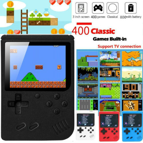 Retro Handheld Game Console For 400 in 1 Games For Nintendo