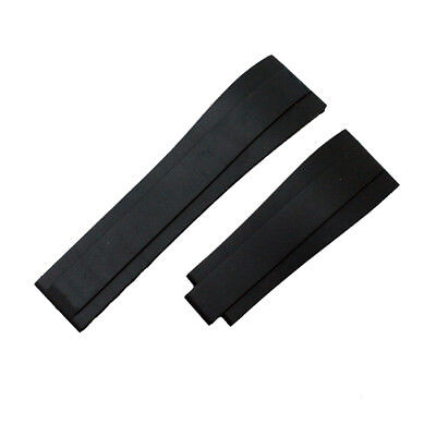 20mm Silicone Diver Replacement Watch Band Strap For Rolex Oysterflex