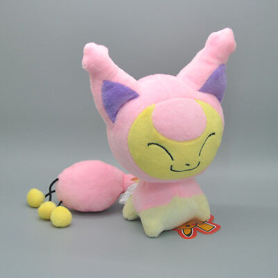 New Pokemon Skitty Plush Doll Soft Stuffed Animal Toy 7 Inch kids Gift