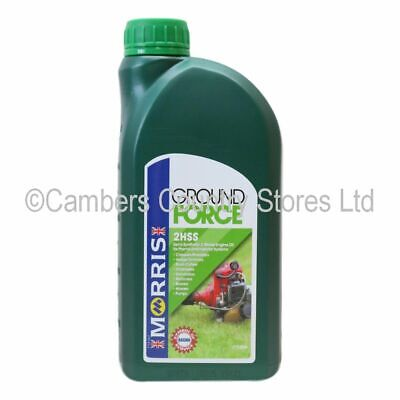 NEW High Quality Morris Ground Force 2HSS 2 Stroke Engine Oil 1 Litre
