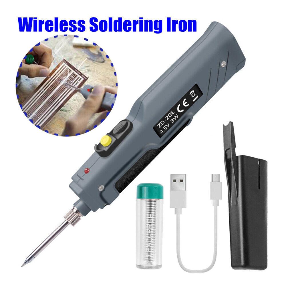 8W Soldering Iron Gun Electric Solder Iron Welding Repair Tool Battery Powered Home & Garden