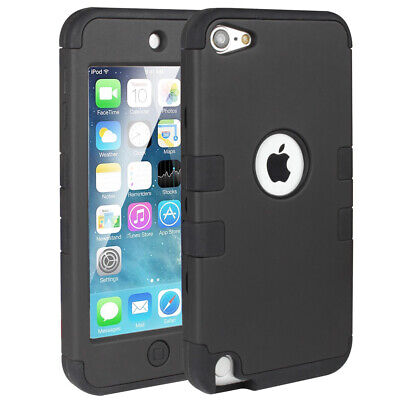 Hybrid Hard Protective Armor Case ShockProof Apple iPod Touch 5 6th Generation